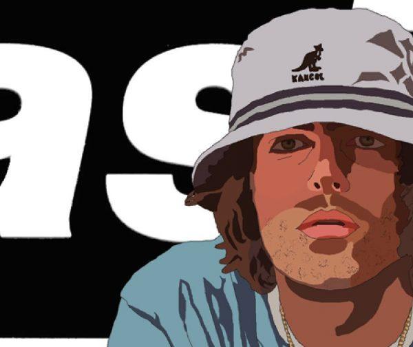 Liam Gallagher Oasis Wall Art Print - Close-up - Portrait - MaadWeb