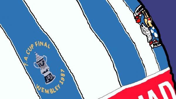 Twist and Shout Wall Art Print - Close-up - Coventry City CCFC - MaadWeb