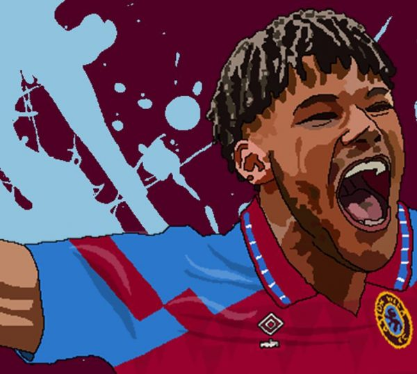 Tyrone Mings Wall Art Print - Close-up - Aston Villa AVFC - MaadWeb
