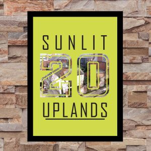 Sunlit Uplands 20 - Wall Art Print - On Wall - MaadWeb