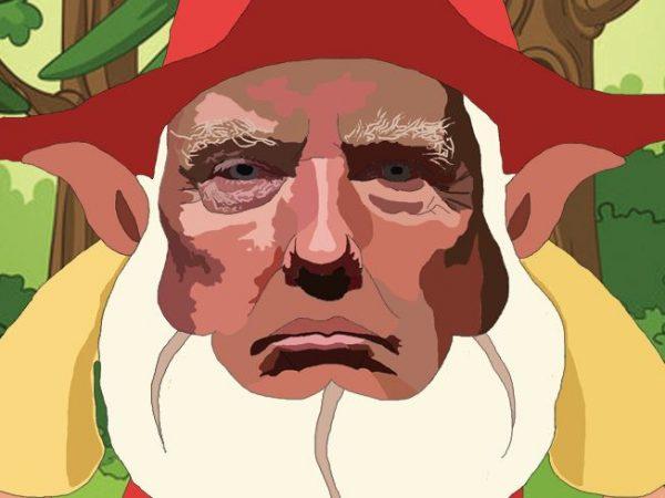 Trumpelstiltskin - Inspired by Donald Trump - Wall Art Print - Close-up - MaadWeb