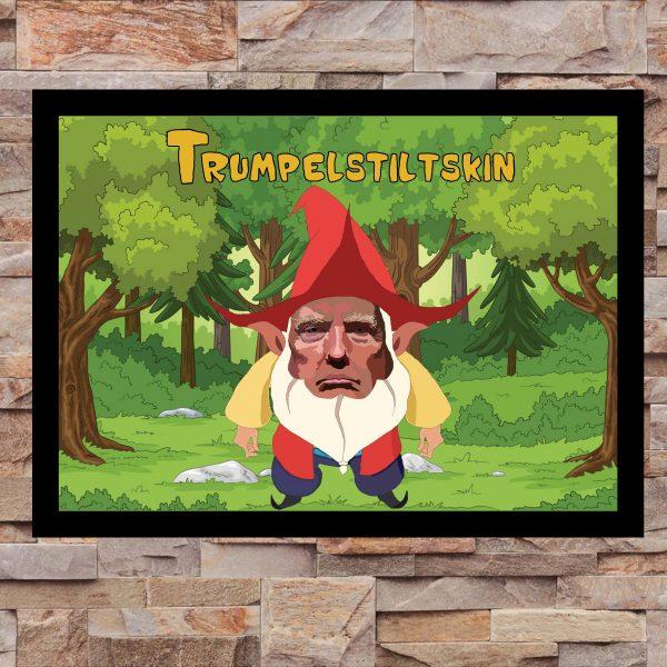 Trumpelstiltskin - Inspired by Donald Trump - Wall Art Print - on Wall - MaadWeb