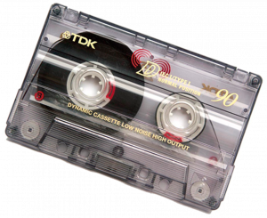 Picture of a Music Cassette
