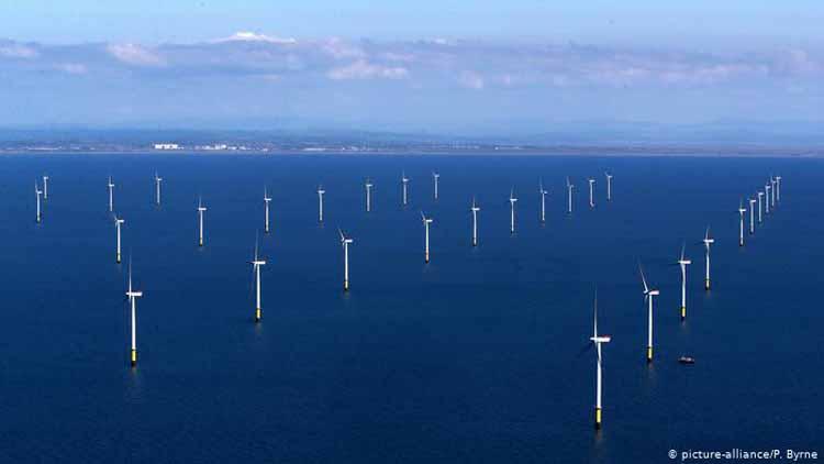 Wind Farms - East Coast, UK