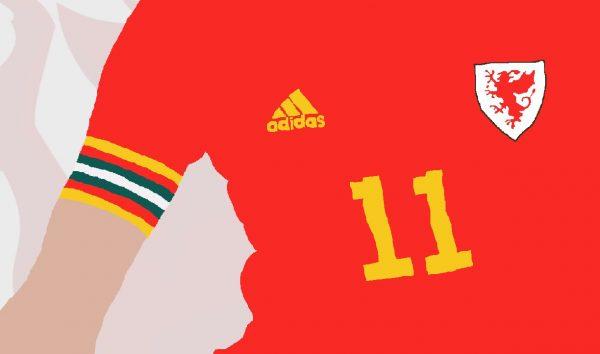 Gareth Bale - GB11 - Part of MaadWeb's Euro 2020 Series - Wall Art Print - Close-Up Detail - MaadWeb