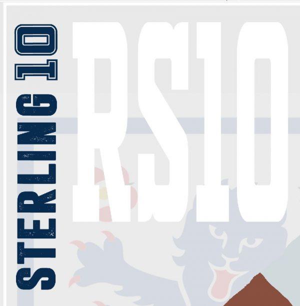 Raheem Sterling - RS10 - Part of MaadWeb's Euro 2020 Series - Wall Art Print - Close-up - MaadWeb