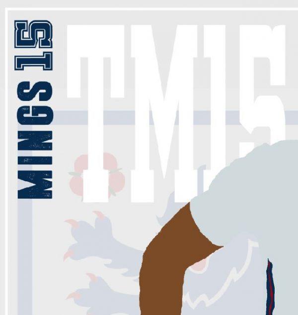 Tyrone Mings - TM15 - Part of MaadWeb's Euro 2020 Series - Wall Art Print - Close-up - MaadWeb