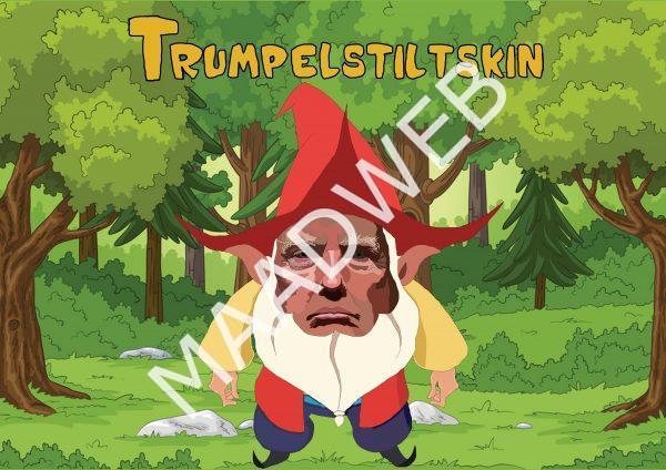 Trumpelstiltskin - Inspired by Donald Trump - Wall Art Print - full size - MaadWeb